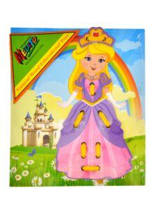 Öltöztetős, ruhafelfűzős - hercegnő