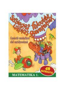 Szöveges feladatok iskolás gyerekeknek - Matematika 1. - 48 matricával