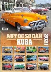 Autócsodák - Kuba (2021-es falinaptár)