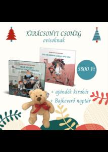 Karácsonyi csomag  - Bajkeverő könyvek macival
