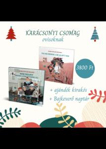 Karácsonyi csomag  - Bajkeverő könyvek