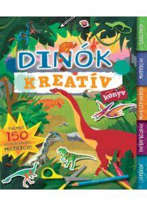 Dinók - Kreatív könyv