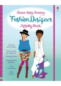 Sticker Dolly Dressing Fashion Designer Activity Book