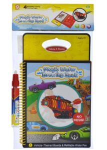 Vízzel rajzoló könyv - járművek