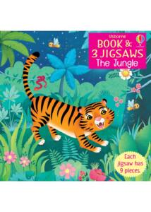 Usborne Book and 3 Jigsaws: The Jungle