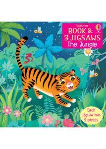 Usborne Book and 3 Jigsaws: The Jungle