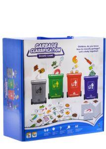 Szelektív hulladékgyűjtős társasjáték