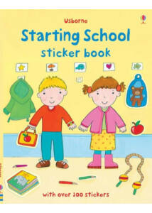 Sticker book - Starting School