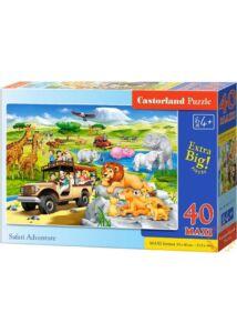 Szafari kaland puzzle