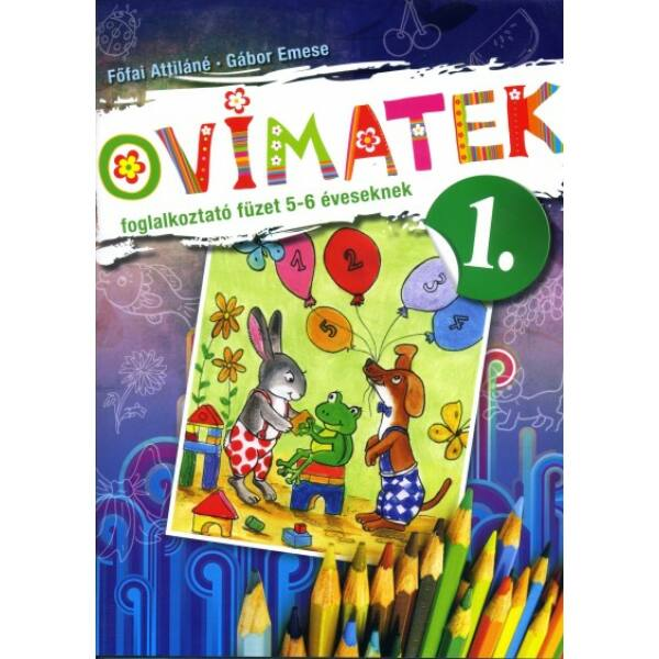 Ovimatek 1. - Foglalkoztató füzet 5-6 éveseknek