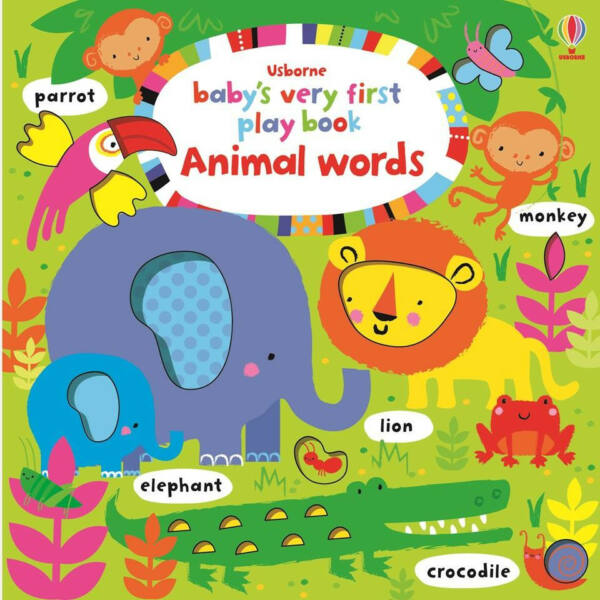Baby's Very First  play book - Animal Words
