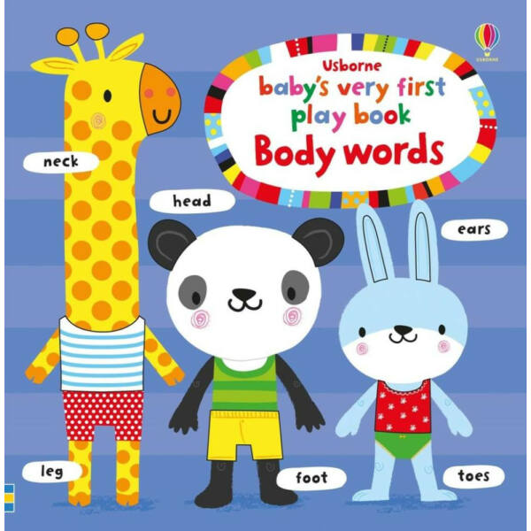 Baby's Very First  play book - Body words