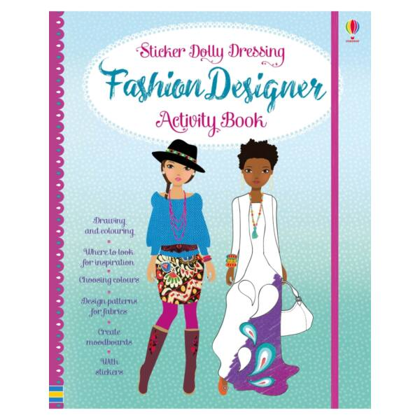 Sticker Dolly Dressing Fashion Designer Activity Book