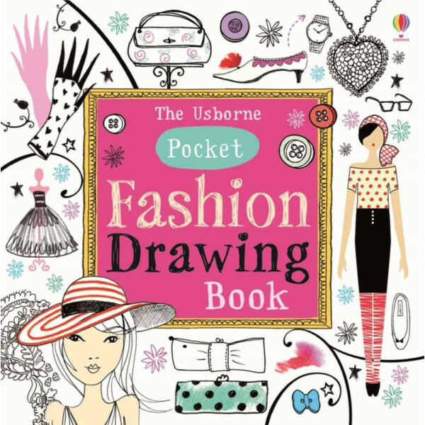 POCKET FASHION DRAWING BOOK