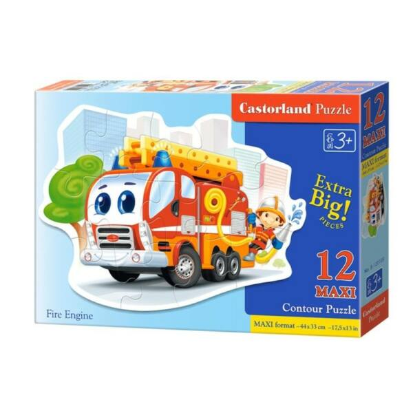Tűzoltó puzzle, 12 db-os