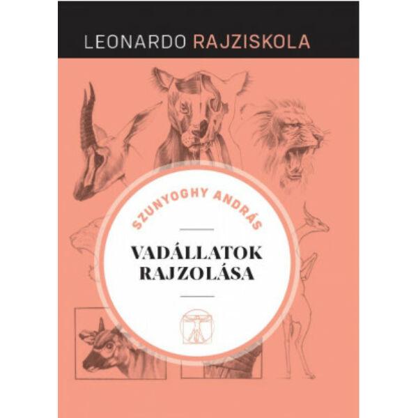 Leonardo rajziskola Bookazine sorozat 12. kötet - Vadállatok rajzolása